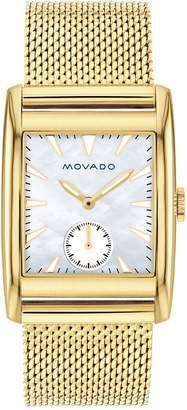 Movado Women's Heritage Swiss Quartz Mesh Watch, 27mm