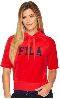 Fila Ariana Short Sleeve Hoodie Women's Sweatshirt