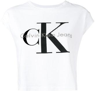 Calvin Klein Jeans logo T-shirt $51.26 thestylecure.com