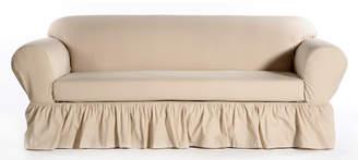 August Grove Sofa Skirted Box Cushion Slipcover