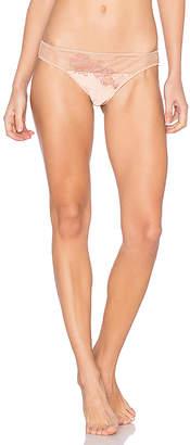 MAISON LEJABY Soie Belle Bikini Briefs in Blush. - size M (also in XS)