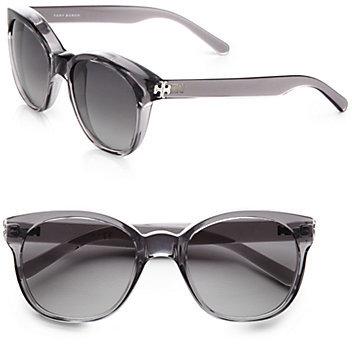Tory Burch Vintage Round Cat's-Eye Sunglasses