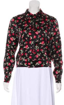 Reformation Floral Print Jacket