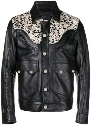 DSQUARED2 animal yoke jacket