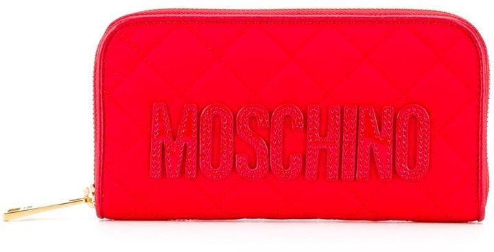 MoschinoMoschino long zip around wallet