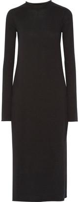 Helmut Lang - Cashmere Sweater Dress - Black $695 thestylecure.com