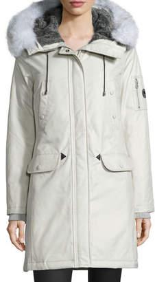 Spiewak Aviation Fur-Hood Parka Coat