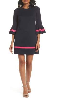 66558035 Eliza J Bell Sleeve Shift Dress - ShopStyle