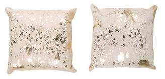 Jonathan Adler Pair of Ponyhair Throw Pillows