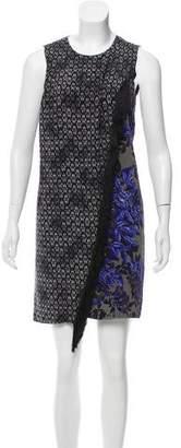 Rebecca Taylor Printed Fringe Dress