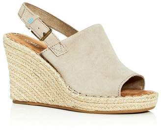 Toms Women's Monica Slingback Wedge Espadrille Sandals