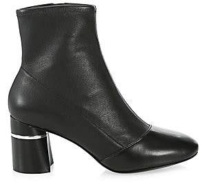3.1 Phillip Lim Women's Drum Leather Ankle Boots