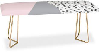Deny Designs Viviana Gonzalez Scandinavian Style 2 Bench