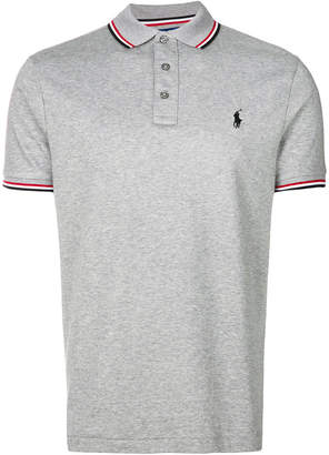 Polo Ralph Lauren striped tipped polo shirt