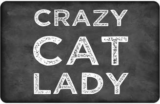 Bungalow Flooring Crazy Cat Lady Floor Mat