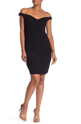 Marina Glitter Bodycon Dress