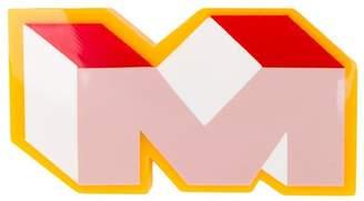Marni monogram 'M' badge