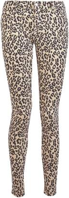 Dorothy Perkins Womens Multi Coloured Leopard Print 'Frankie' Ankle Grazer Jeans