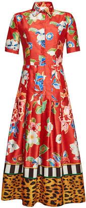 Stella Jean Printed Maxi Dress