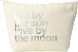 Dogeared Lil Zip, Live By the Moon Cosmetic Case