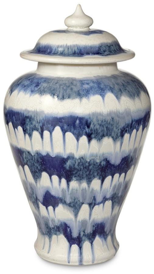 Williams-Sonoma Ceramic Drip Ginger Jar