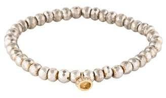 Sydney Evan 14K Pyrite & Diamond Bead Bracelet