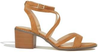 215fcc53fa25 Next Womens Oasis Tan Ava Strappy Heeled Sandal