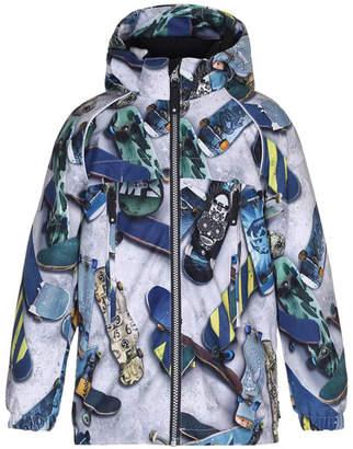 Molo Castor Skateboard Hooded Jacket, Size 4-10