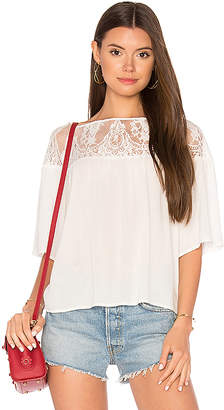 BB Dakota Jana Top in White $80 thestylecure.com