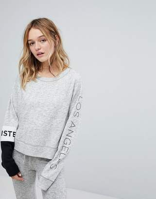 Hollister Colour Block Sweatshirt