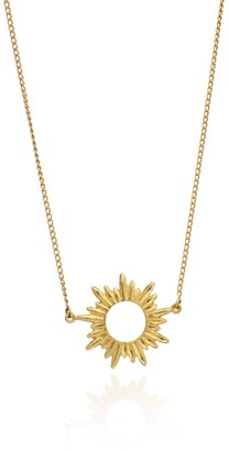 Rachel Jackson London Sunrays Short Necklace in Gold