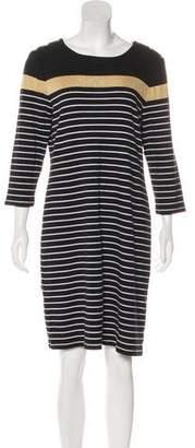 Lauren Ralph Lauren Striped Knee-Length Dress
