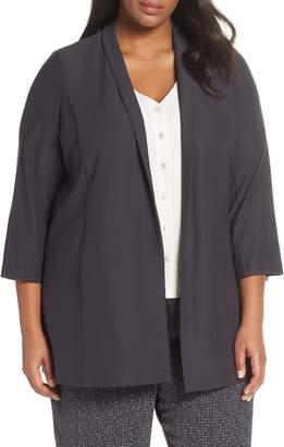 Eileen Fisher Shawl Collar Long Jacket