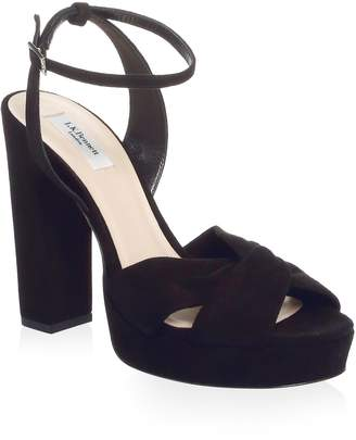 LK Bennett Suede Ankle-Strap Sandals