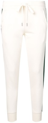 Roqa side stripe track trousers