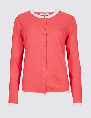 Marks and Spencer Contrasting Hem Cardigan