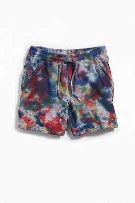 Urban Outfitters Lucian Tie-Dye Volley Short