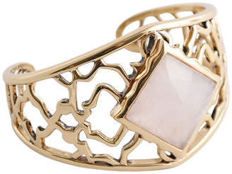 Artsmith BY BARSE By Barse Womens Pink Cuff Bracelet Bronze