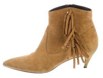Saint LaurentSaint Laurent Suede Ankle Boots