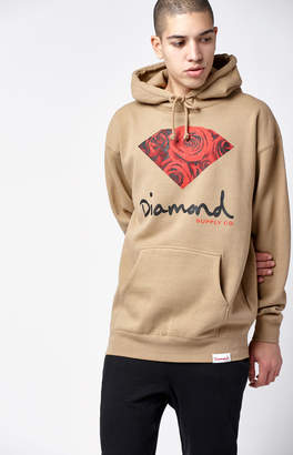 Diamond Supply Co. OG Sign Rose Pullover Hoodie