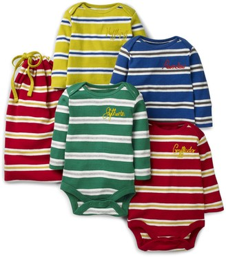 Boden Mini Harry Potter 4-Pack Stripe Bodysuits