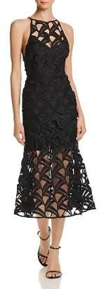 La Maison Talulah Cutout Lace Midi Dress