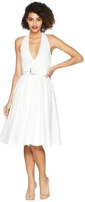 Unique Vintage Halter Tarrytown Hostess Dress Women's Dress