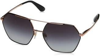 Dolce & Gabbana Women's Metal Woman Square Sunglasses