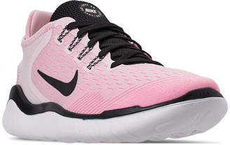 51705708583 Nike Women Free Run 2018 Running Sneakers from Finish Line