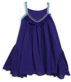 Catimini Little Girl's & Girl's Tassel Halter Dress