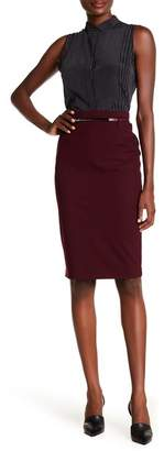 Amanda & Chelsea Signature Belted Pencil Skirt