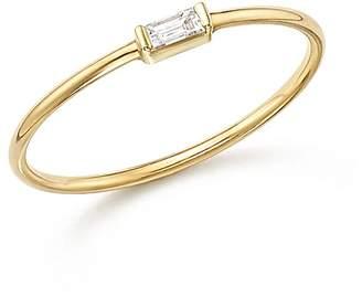 Chicco Zoë 14K Yellow Gold Diamond Baguette Ring