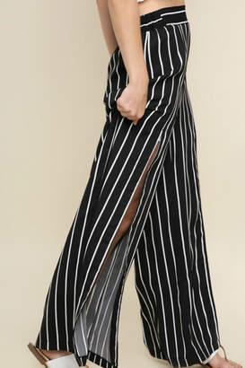 Umgee USA Striped Wide Pant