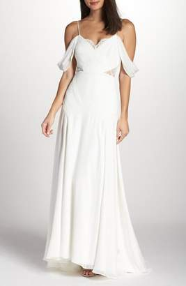 Fame & Partners The Fitzgerald Cold Shoulder Gown